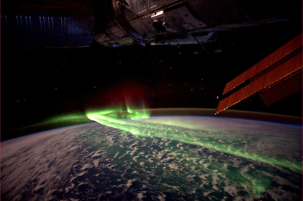 Australia, Antartica and the Southern Lights