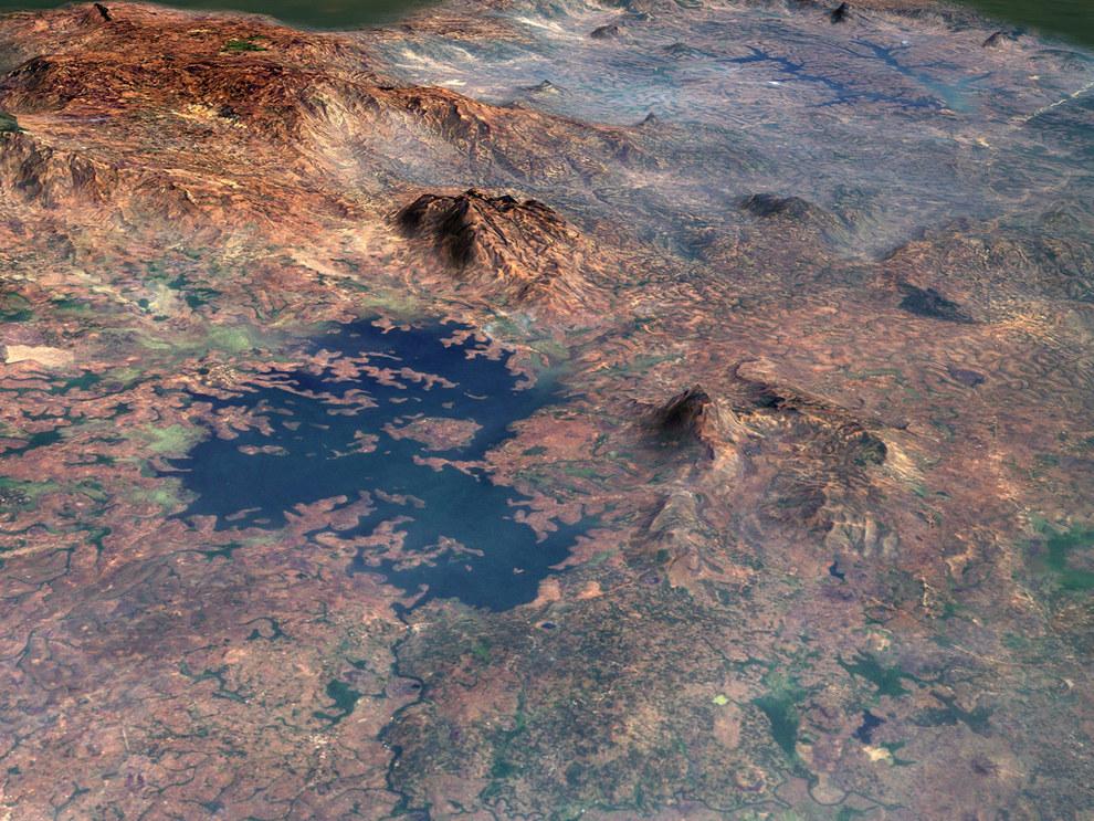 Bamenjing Resovoir, Cameroon, Africa