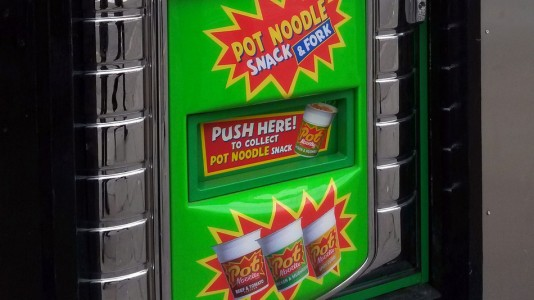 pot noodle vending machine