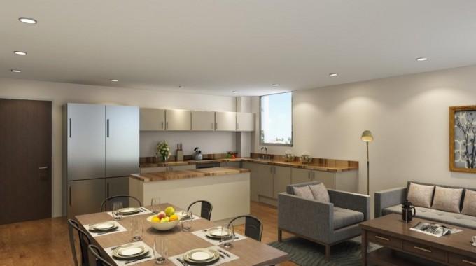 Lounge - Kitchen Aberdeen
